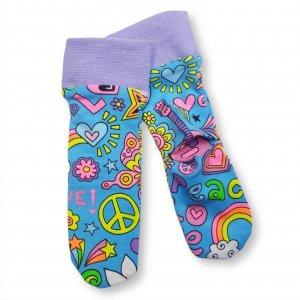 "Baby Socken ""Hippie"""
