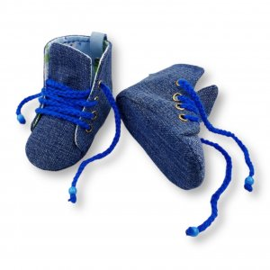 """Turnschuhe Jeans """"Tiere"""" (3-9Monate)"""
