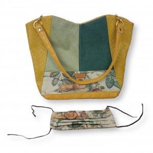 "Handtasche Kunstleder ""Safari"""