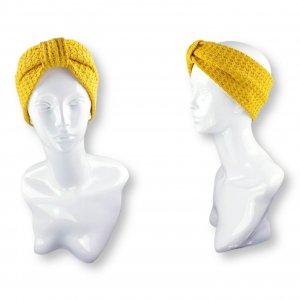 "Stirnband Turban ""Waffeloptik"""