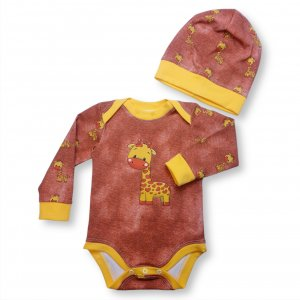 "Baby Set 2-teilig ""Giraffe"" Gr.74/80"