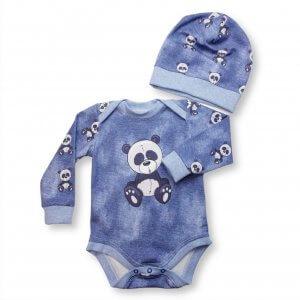 """Baby Set 2-teilig """"Panda"""" Gr.74/80"""