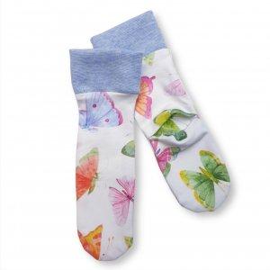"""Baby Socken """"Schmetterlinge"""""""