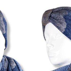 """Stirnband Turban """"Blumen"""""""