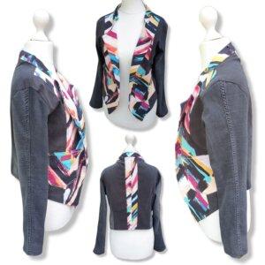 """Blazer/Jacke Jeans """"Streifen"""" Gr.S/M (36/38)"""
