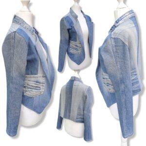 "Blazer/Jacke Jeans ""Jeans"" Gr.S/M (36/38)"