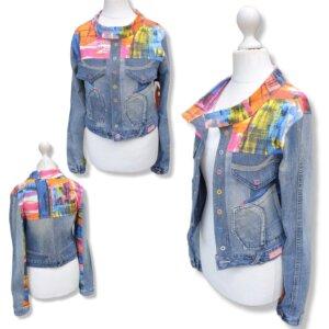 """Jacke Jeans """"Muster"""" Gr.S (36)"""